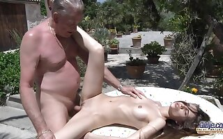 tight pussy and old man  - Amateur Sex