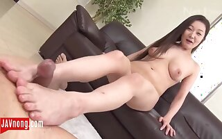 Japanese prurient gal exciting clip