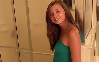 Carolina sweets teen bj unused from the shower
