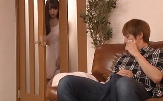 Deep mating be required of the Japanese mommy after a long wait
