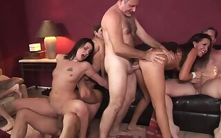 Lacey Luv &  Richelle Ryan &  Leah Luv &  Misdemeanour & in Orgy Sex Parties #2