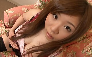 Asian teen knows how to present loving nipples and unshaved twat
