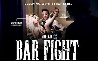 Kenzie Reeves & Ryan Keely in Bar Fight