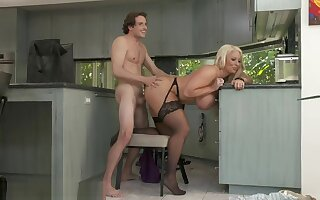 Alura TNT Jenson seduces her sons friend