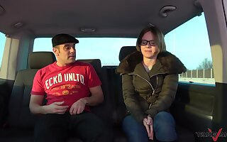 Back seat seduction and rough fucking for the needy teen