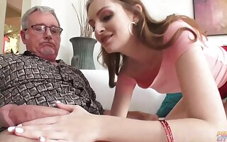Victuals blonde slut, Maya Kendrick got fucked in the ass until she started moaning from wonder