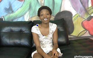 Slim Horrific Ebony Throated