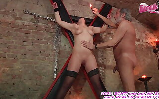 german duteous girl fucks anent charm room with a user