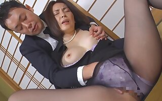 Japanese horny nourisher amazing porn clip