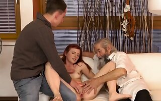Old Unexpected experience with an older gentleman